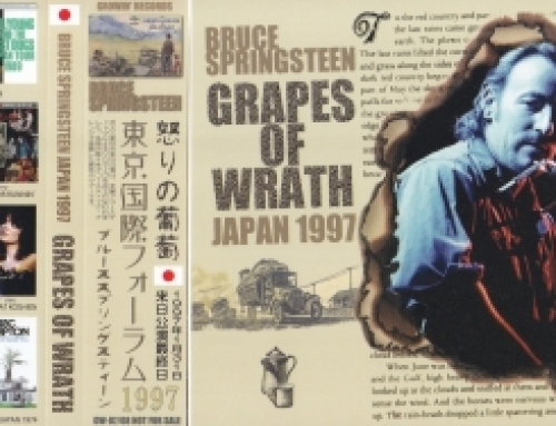 Bruce Springsteen / Grapes of Wrath / 2CD WX OBI Strip