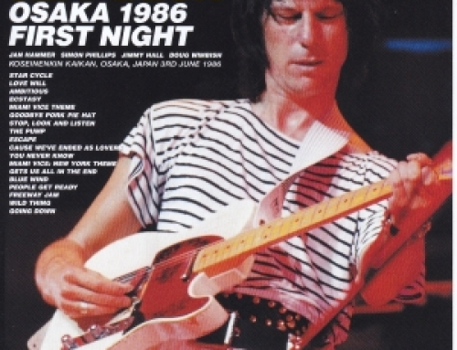 Jeff Beck / Osaka 1986 First Night / 2CD