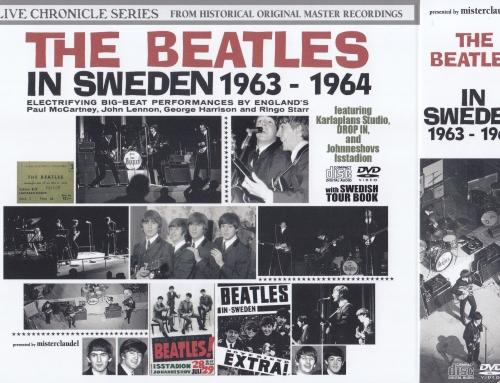 Beatles / In Sweden 1963-1964 / 2CD+2DVD Wx Booklet & Slipcase