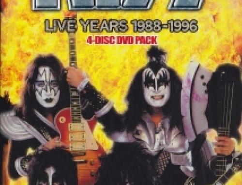 Kiss / Live Years 88-96 / 4DVDR
