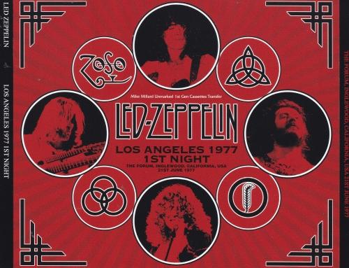 Led Zeppelin/ Los Angeles 1977 1st Night / 3CD