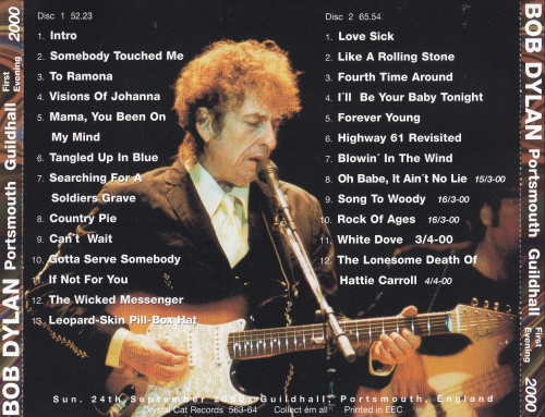 Bob Dylan / Portsmouth Guildhall 1st Evening 2000 / 2CD