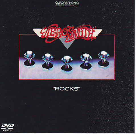 Aerosmith Rocks Quadraphonic Dvd Audio Edition 1dvdr