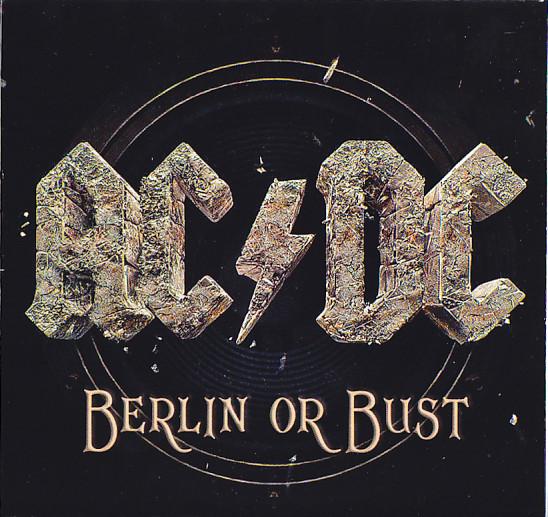 Acdc Berlin Or Bust 2cd1dvd Foldup Papercase Giginjapan