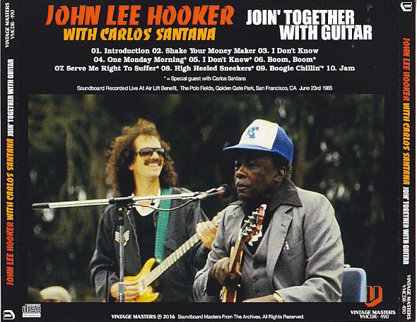 john lee hooker with carols santana join together with guitar 1cdr giginjapan. Black Bedroom Furniture Sets. Home Design Ideas