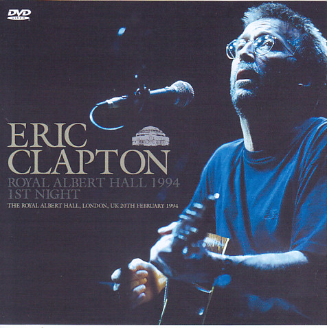 eric clapton royal albert hall 1994 1st night 1dvdr giginjapan. Black Bedroom Furniture Sets. Home Design Ideas