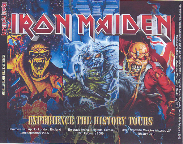 Iron Maiden / Experience The History Tours / 3DVDR