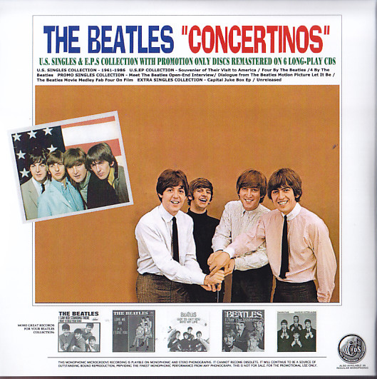 Beatles Concertinos Us Singles Amp Eps Remastered
