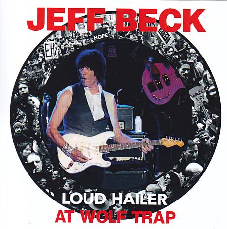 jeff beck loud hailer at wolf trap 2cdr giginjapan. Black Bedroom Furniture Sets. Home Design Ideas