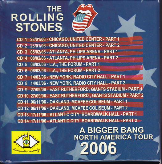 Rolling Stones / A Bigger Bang North American Tour 2006