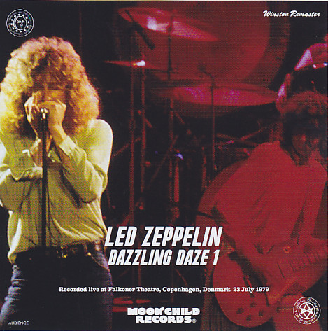 led zeppelin dazzling daze 1 winston remaster 2cd giginjapan. Black Bedroom Furniture Sets. Home Design Ideas