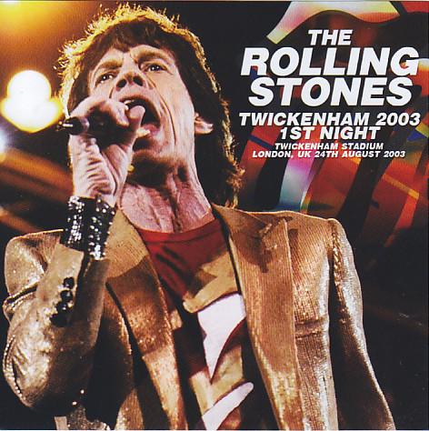 Rolling Stones / Twickenham 2003 1st Night / 2CD – GiGinJapan