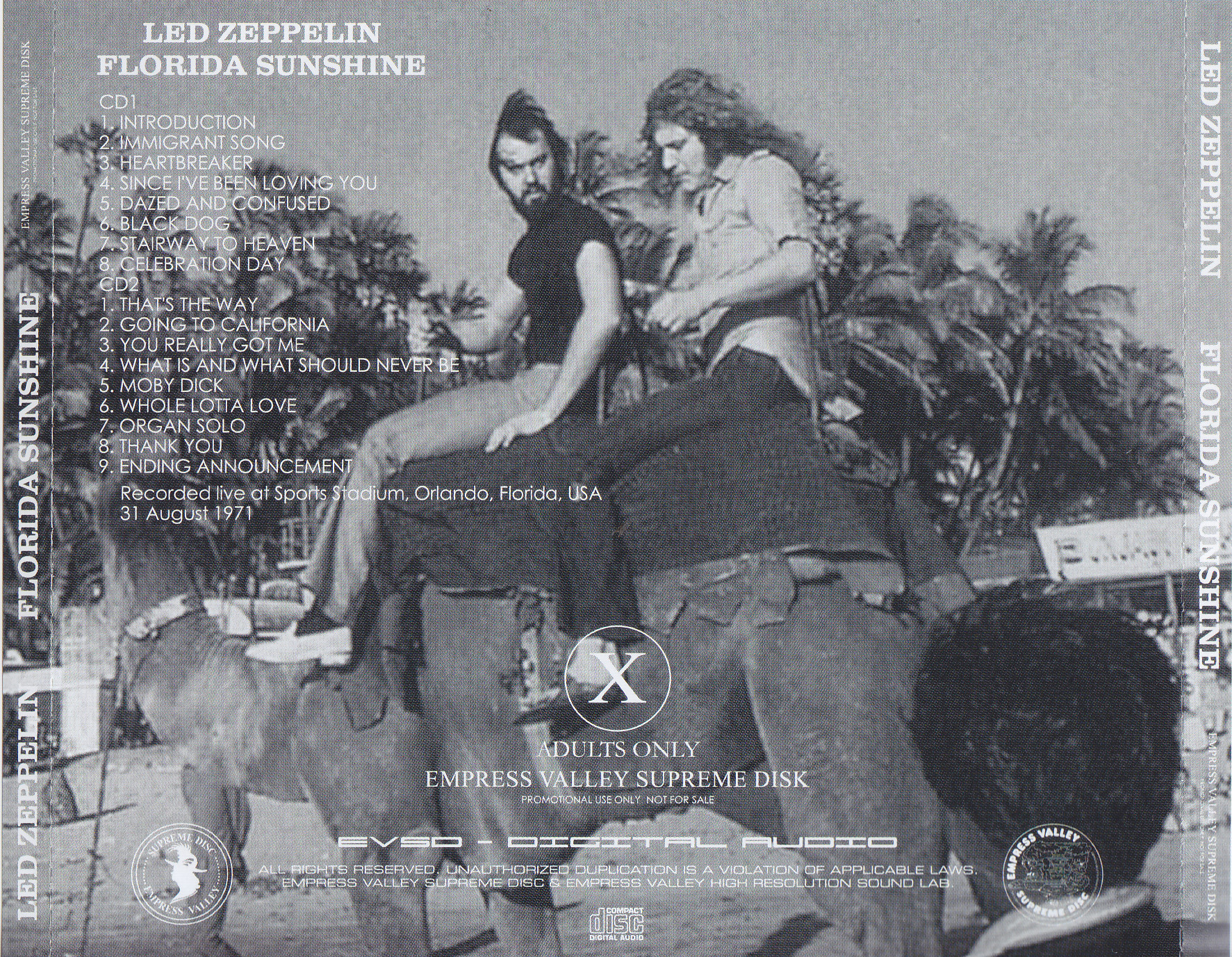 Led Zeppelin / Florida Sunshine / 2CD – GiGinJapan