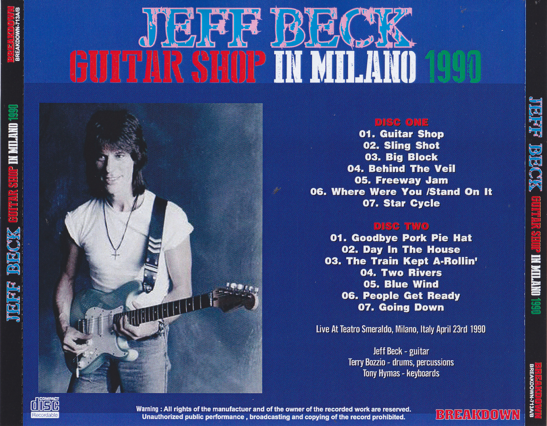 Jeff Beck / Guitar Shop In Mil...