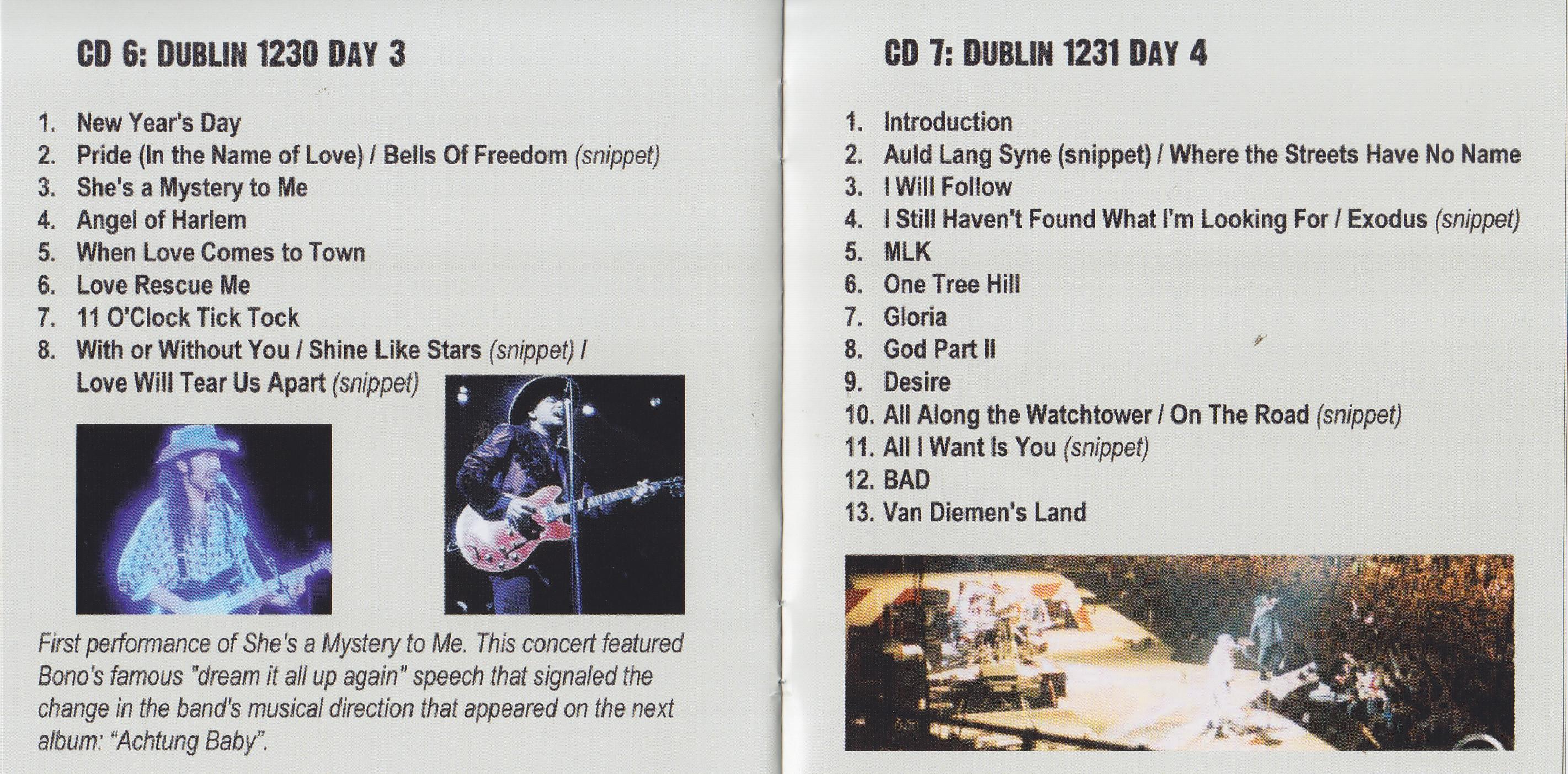 U2 / All The Promises / 8CD Boxset – GiGinJapan