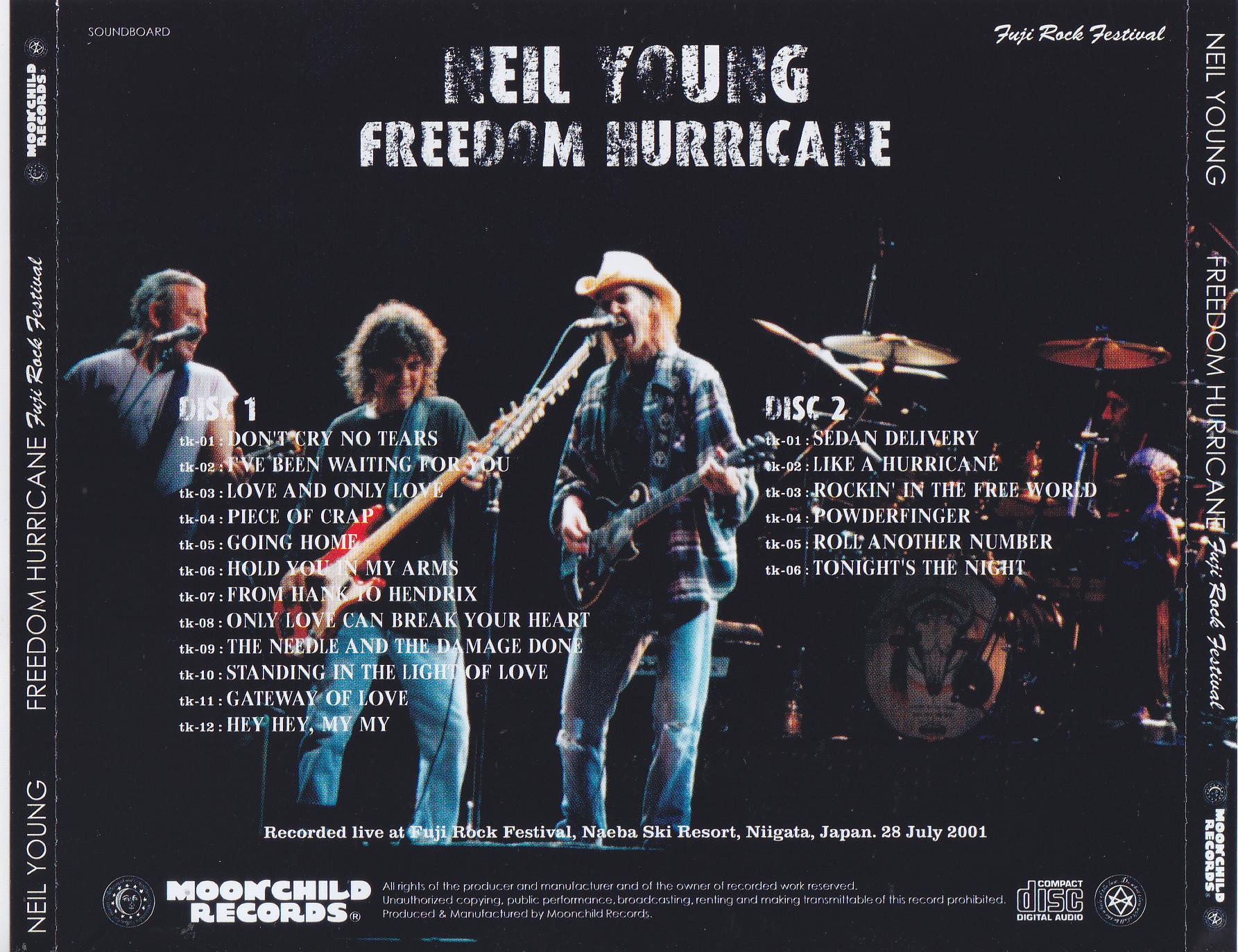 Neil Young / Freedom Hurricane Fuji Rock Festival / 2CD