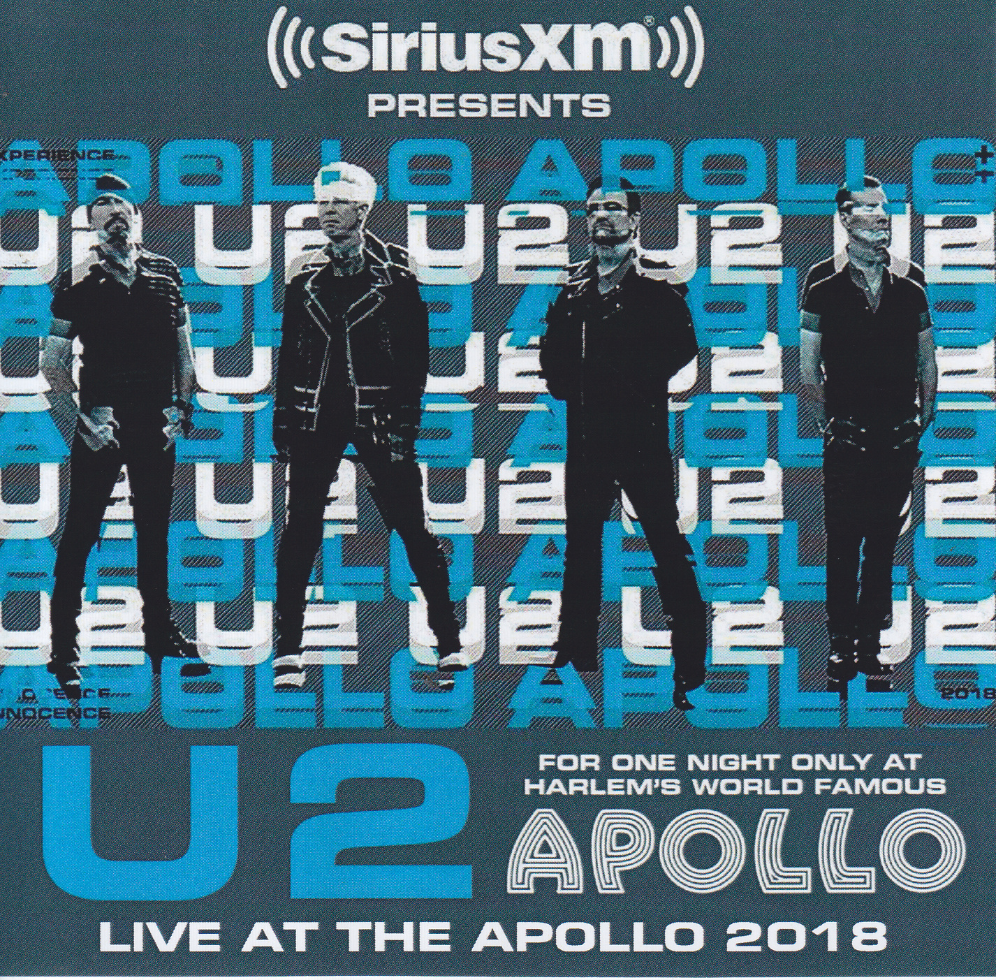 U2 / Live At The Apollo 2018 /2CDR – GiGinJapan
