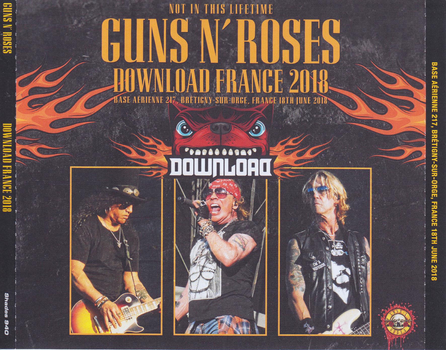 guns n roses download france 2018 3cdr giginjapan