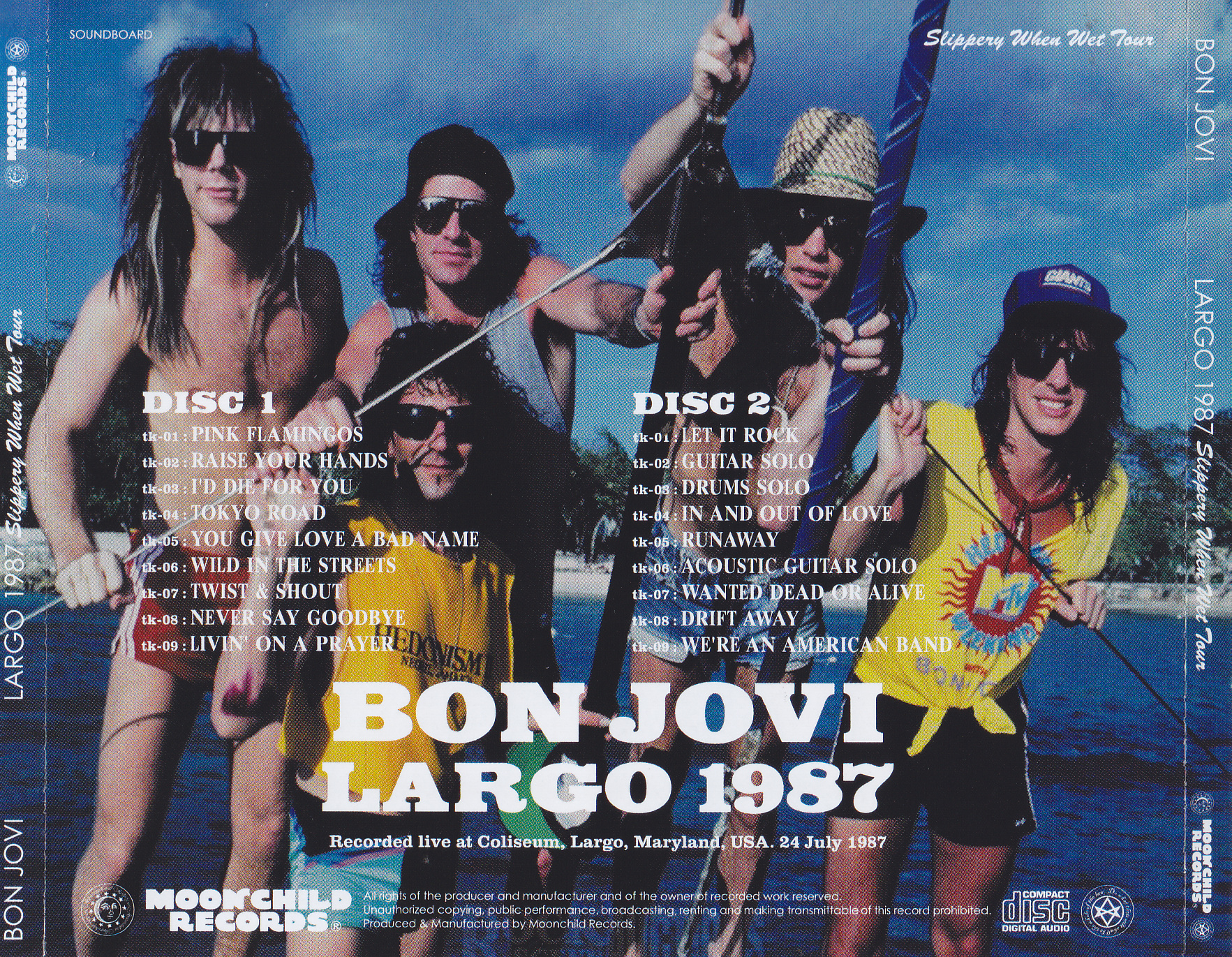 Bon Jovi / Largo 1987 / 2CD – GiGinJapan