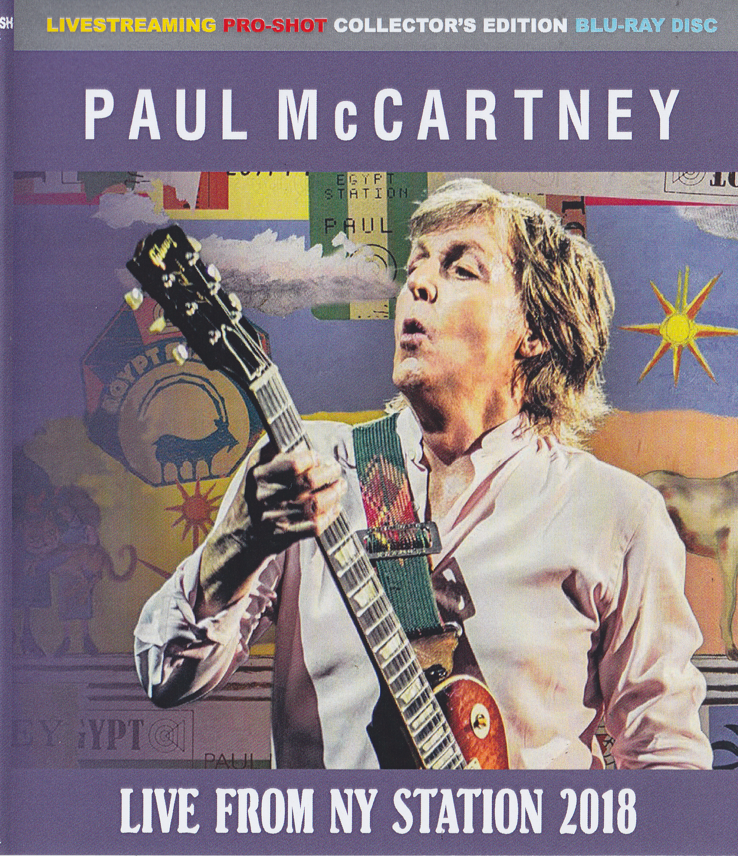 Paul McCartney / Live From NY Station 2018 / 1Blu Ray R