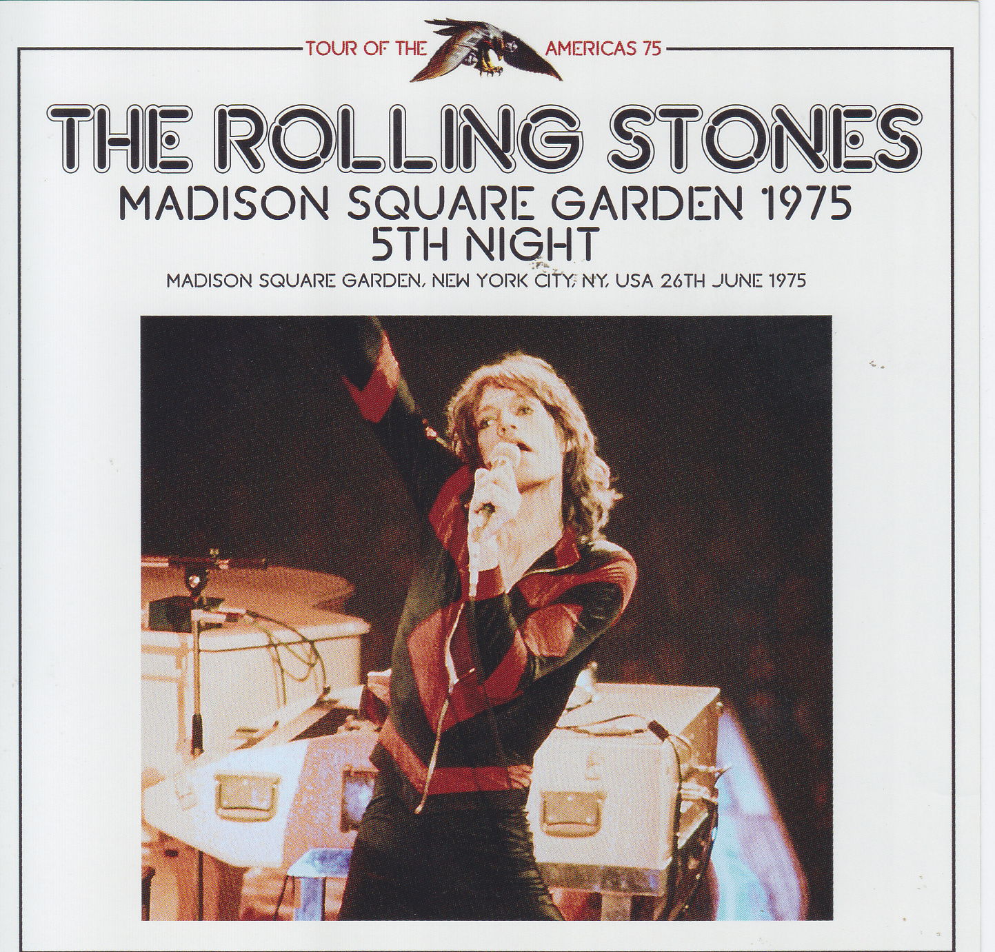 Rolling Stones Madison Square Garden 1975 5th Night