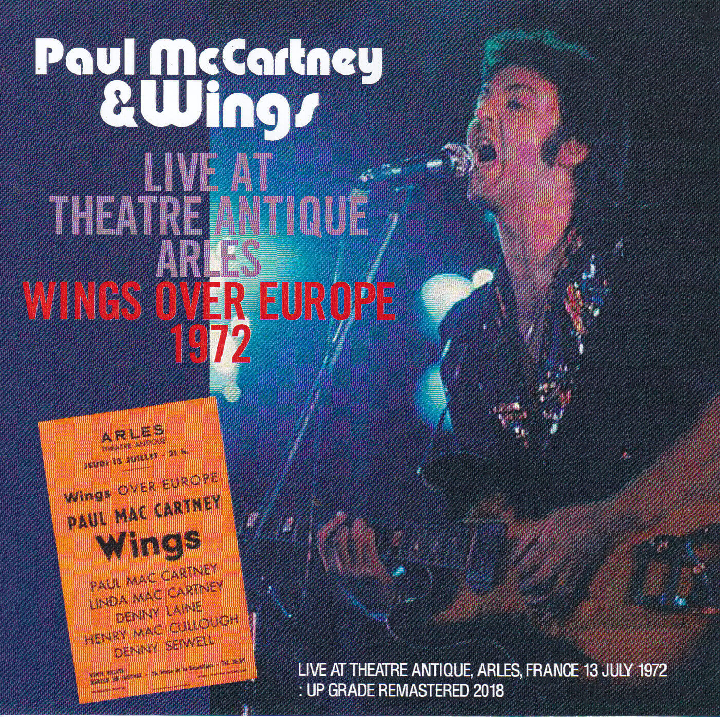Paul Mccartney Amp Wings Live At Theater Antique Arles