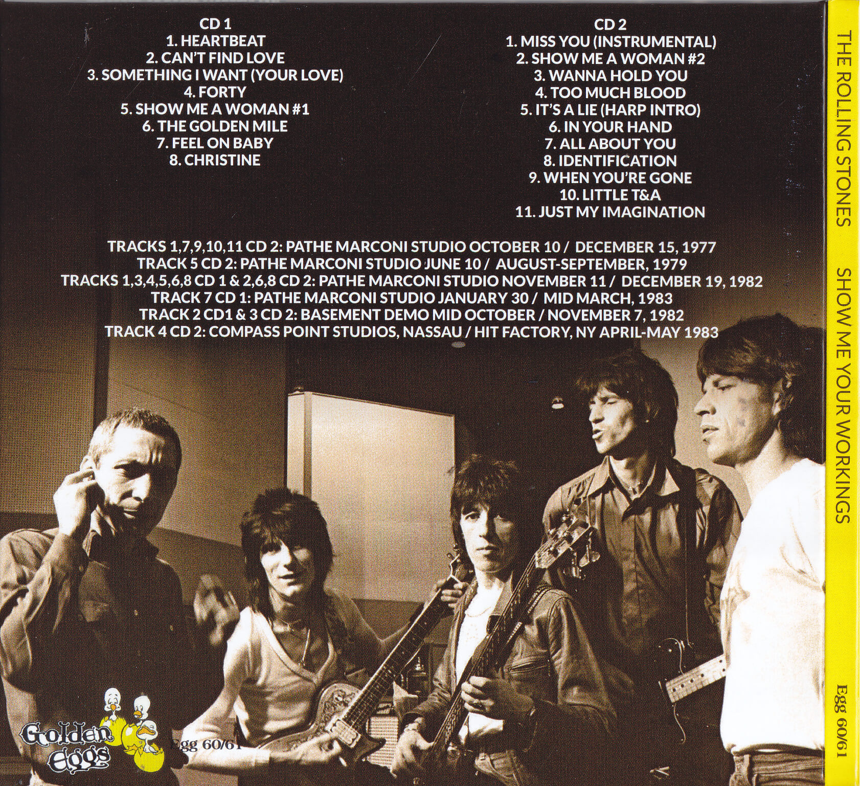Rolling Stones / Show Me Your Workings / 2CD Slipcase