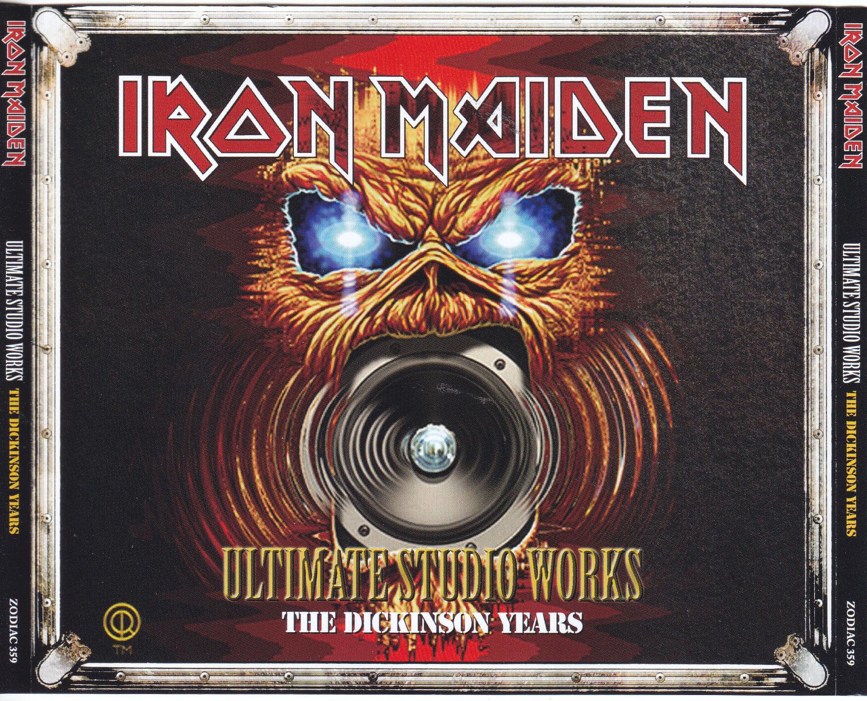 Iron Maiden Eddie Hi-gloss sticker.