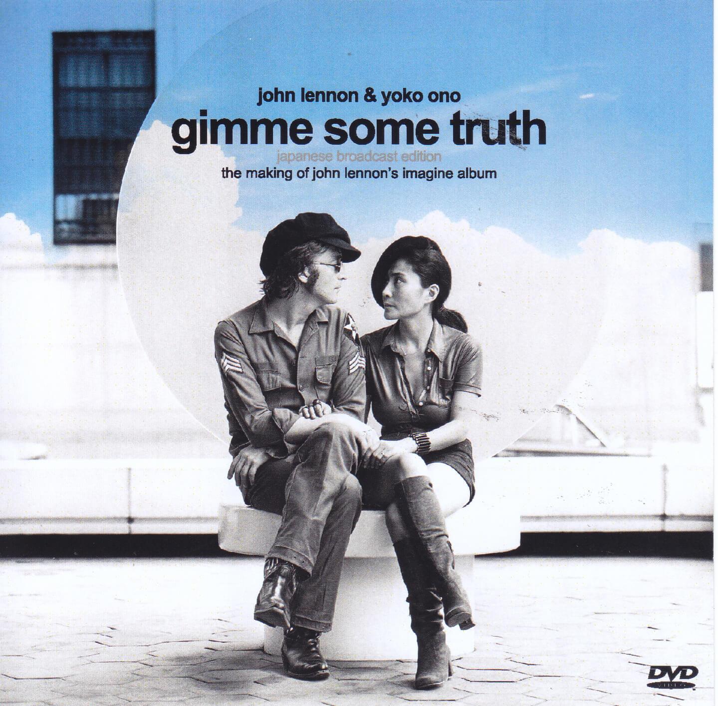 John Lennon Yoko Ono Gimme Some Truth Japanese Broadcast Edition 1dvdr Giginjapan
